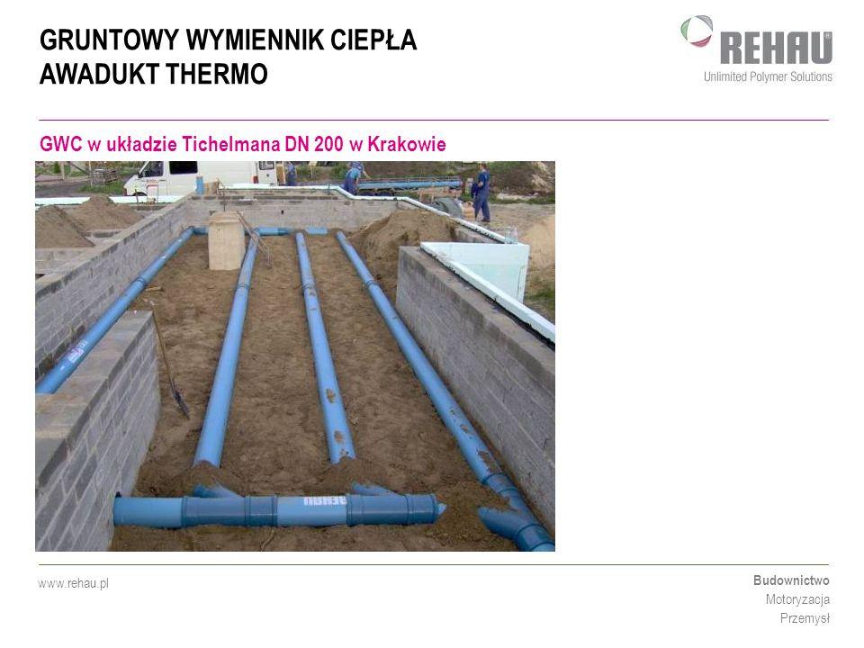 GWC w układzie Tichelmana DN 200 w Krakowie