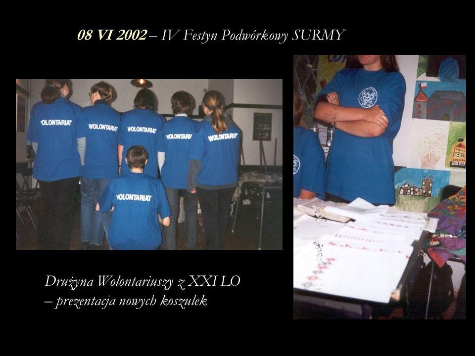 08 VI 2002 – IV Festyn Podwórkowy SURMY