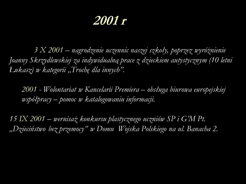 2001 r