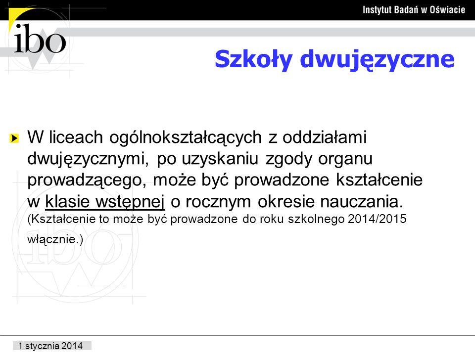 Szkoły dwujęzyczne