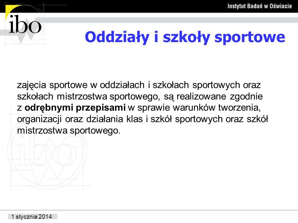 Oddziały i szkoły sportowe