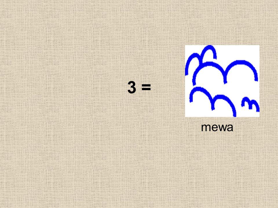 3 = mewa