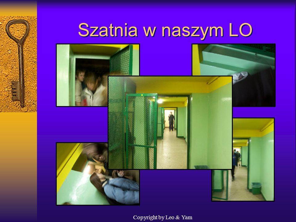 Szatnia w naszym LO Copyright by Leo & Yam
