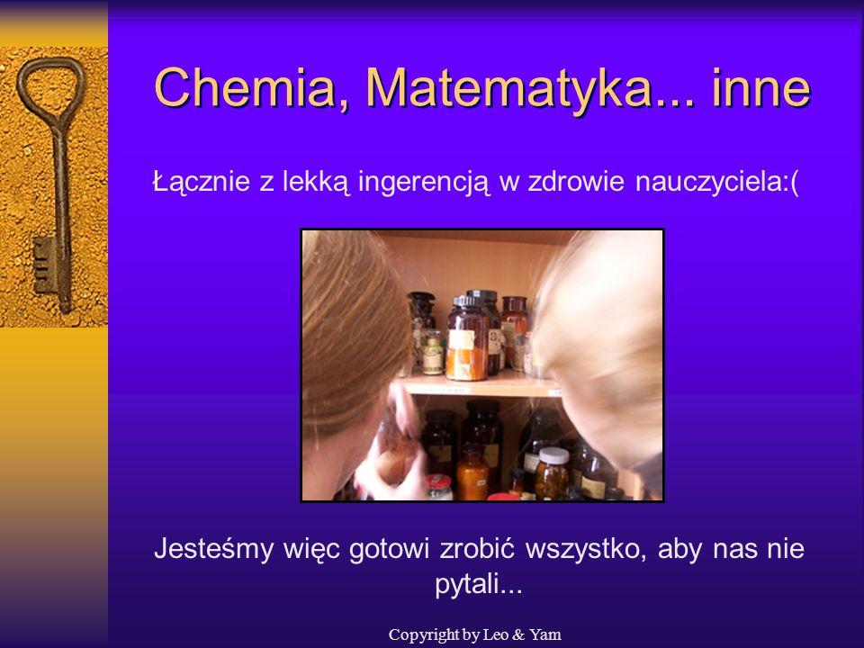 Chemia, Matematyka... inne