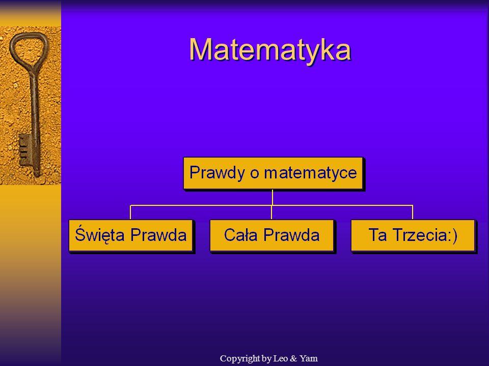 Matematyka Copyright by Leo & Yam