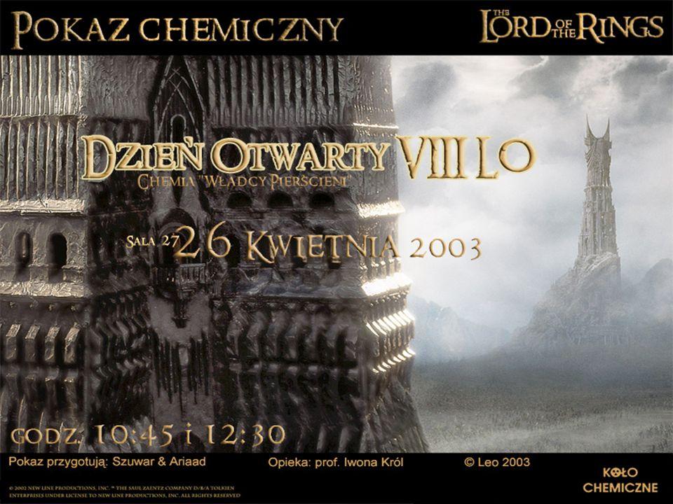 Pokaz chemiczny Miejsce na plakat reklamujący pokaz chemiczny
