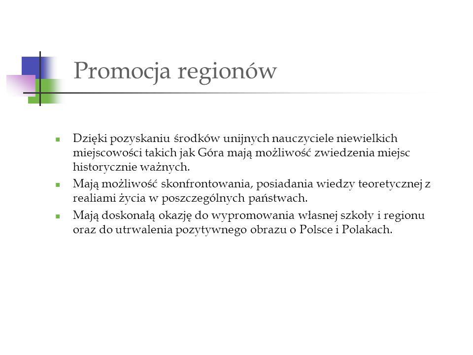 Promocja regionów