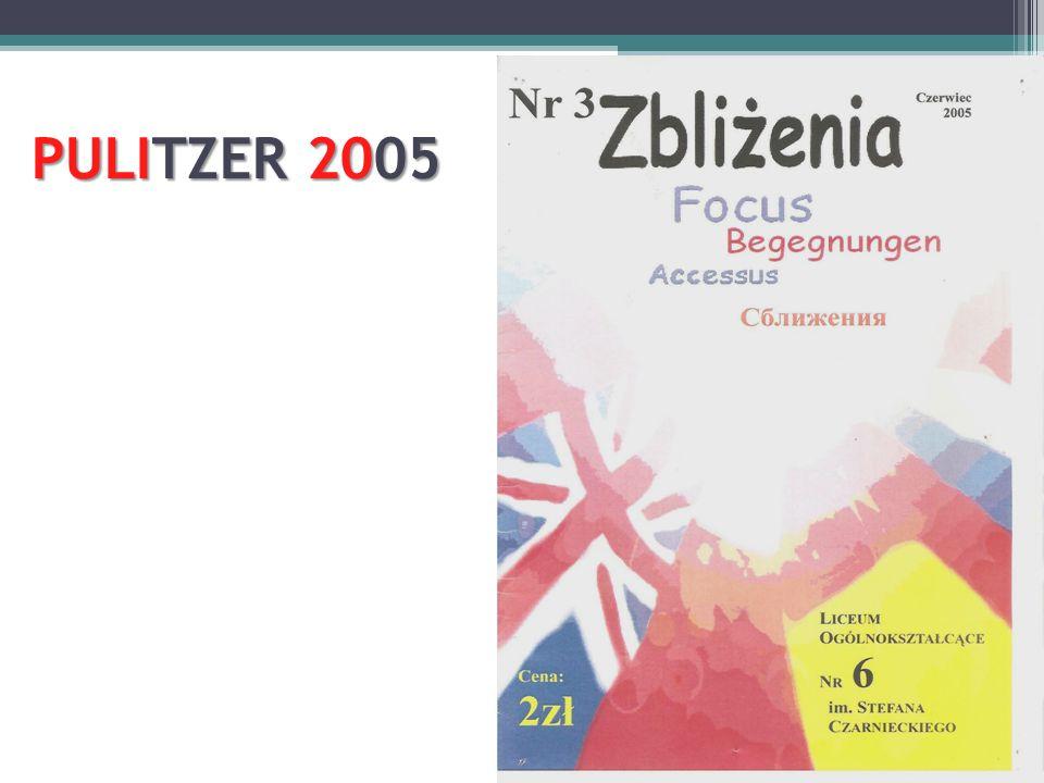PULITZER 2005