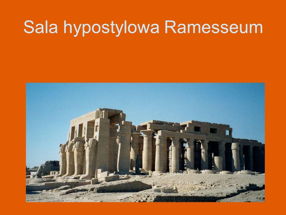 Sala hypostylowa Ramesseum