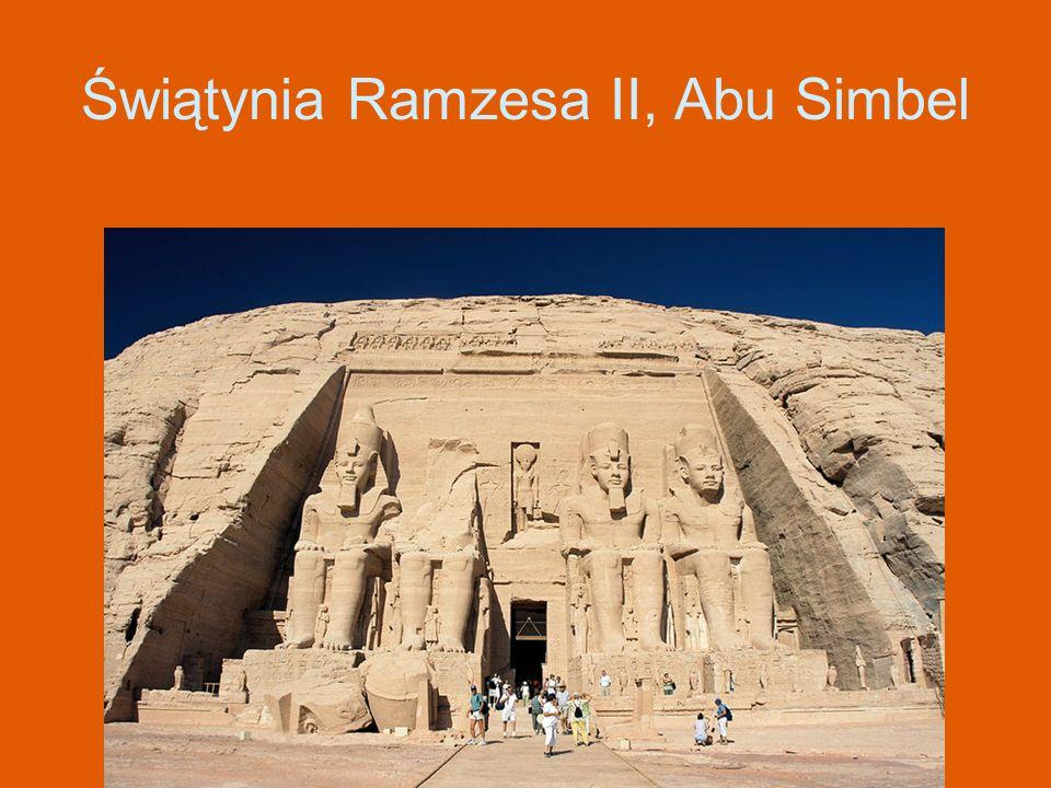 Świątynia Ramzesa II, Abu Simbel
