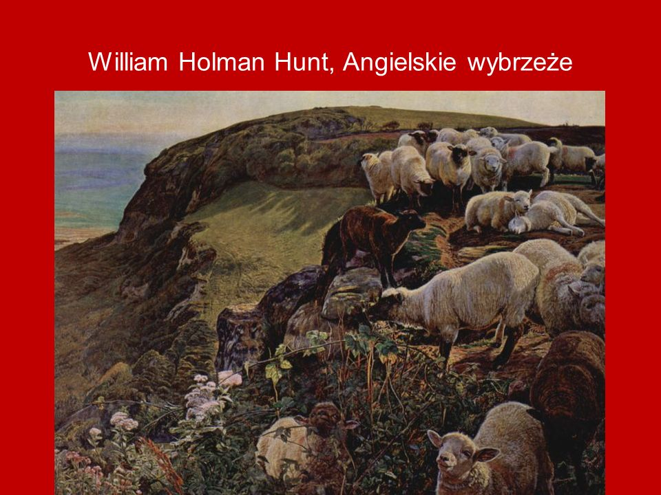 William Holman Hunt, Angielskie wybrzeże