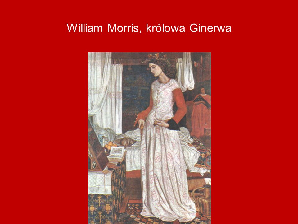 William Morris, królowa Ginerwa
