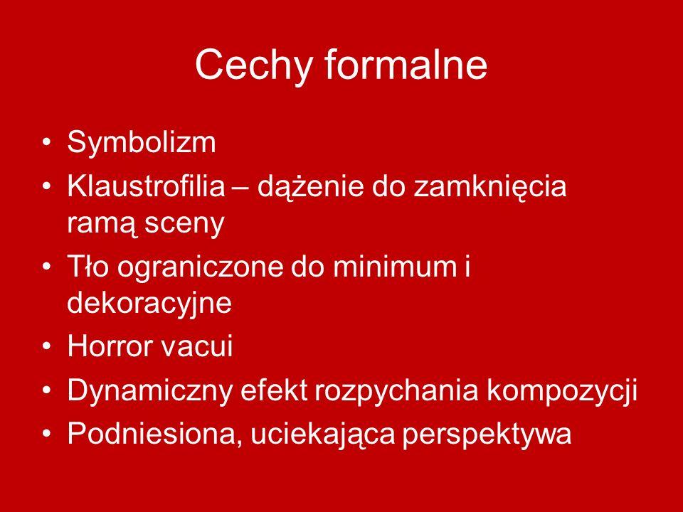 Cechy formalne Symbolizm