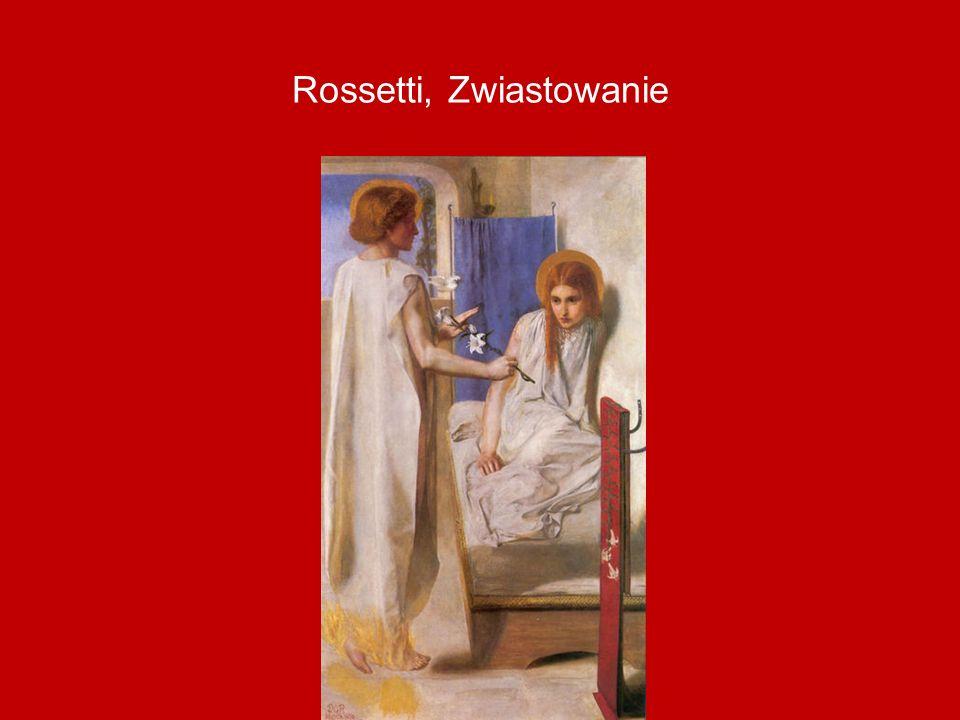 Rossetti, Zwiastowanie