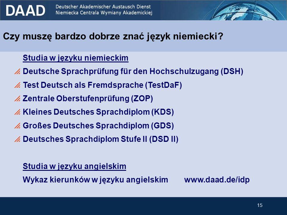 Czy muszę bardzo dobrze znać język niemiecki