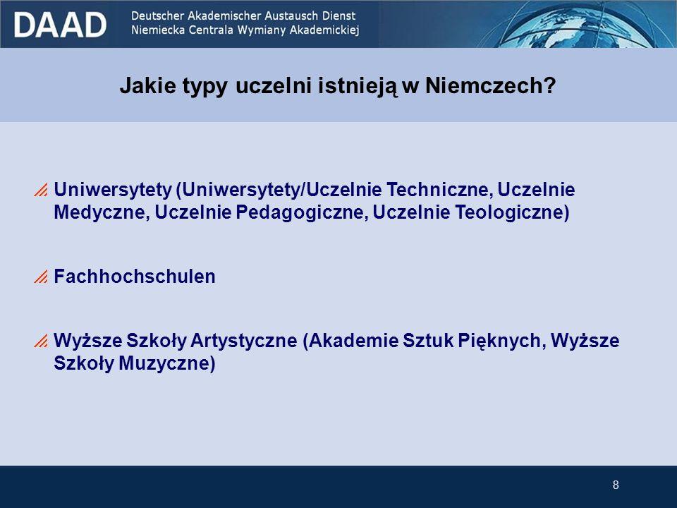 Jakie typy uczelni istnieją w Niemczech