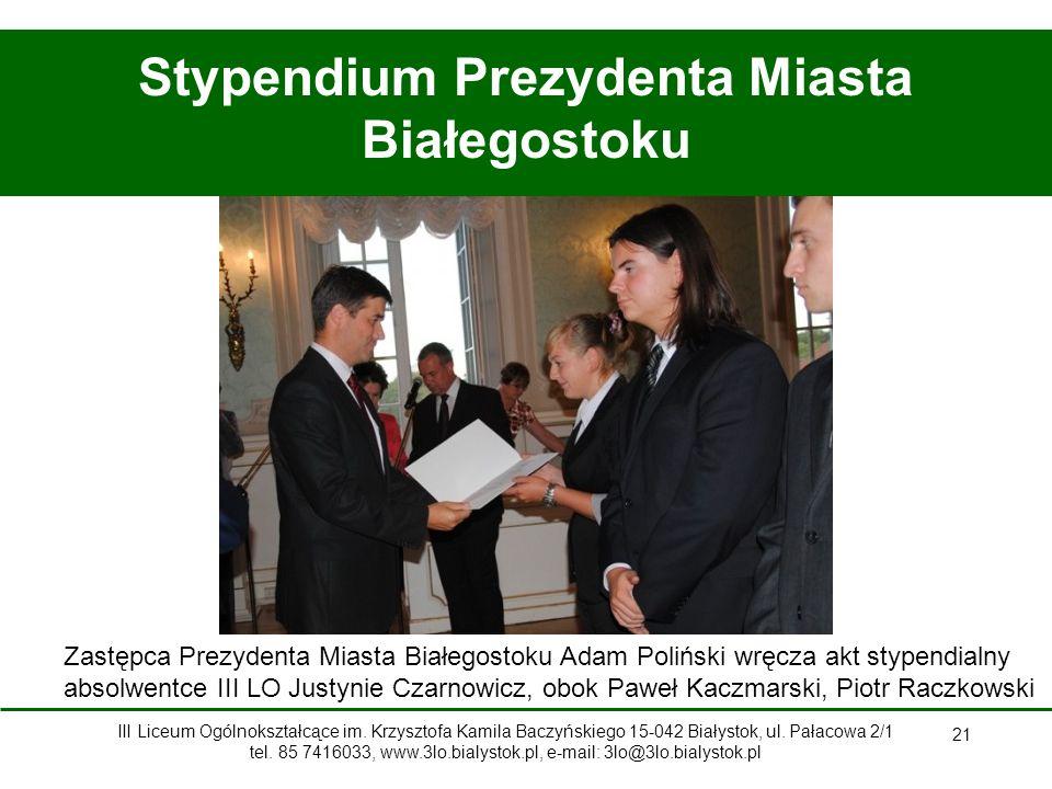 Stypendium Prezydenta Miasta Białegostoku