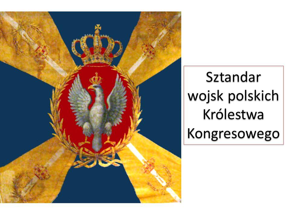 Sztandar wojsk polskich Królestwa Kongresowego