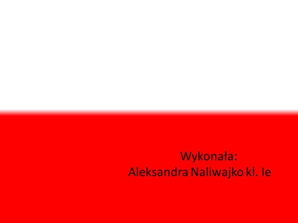 Wykonała: Aleksandra Naliwajko kl. Ie