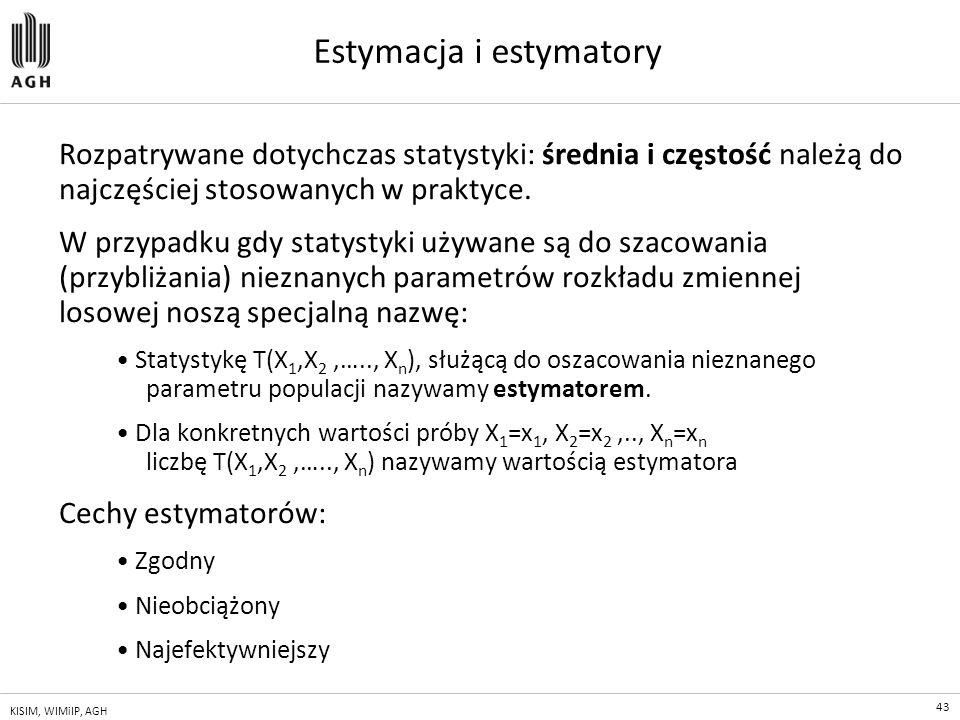 Estymacja i estymatory