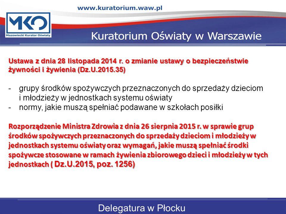 Ustawa z dnia 28 listopada 2014 r
