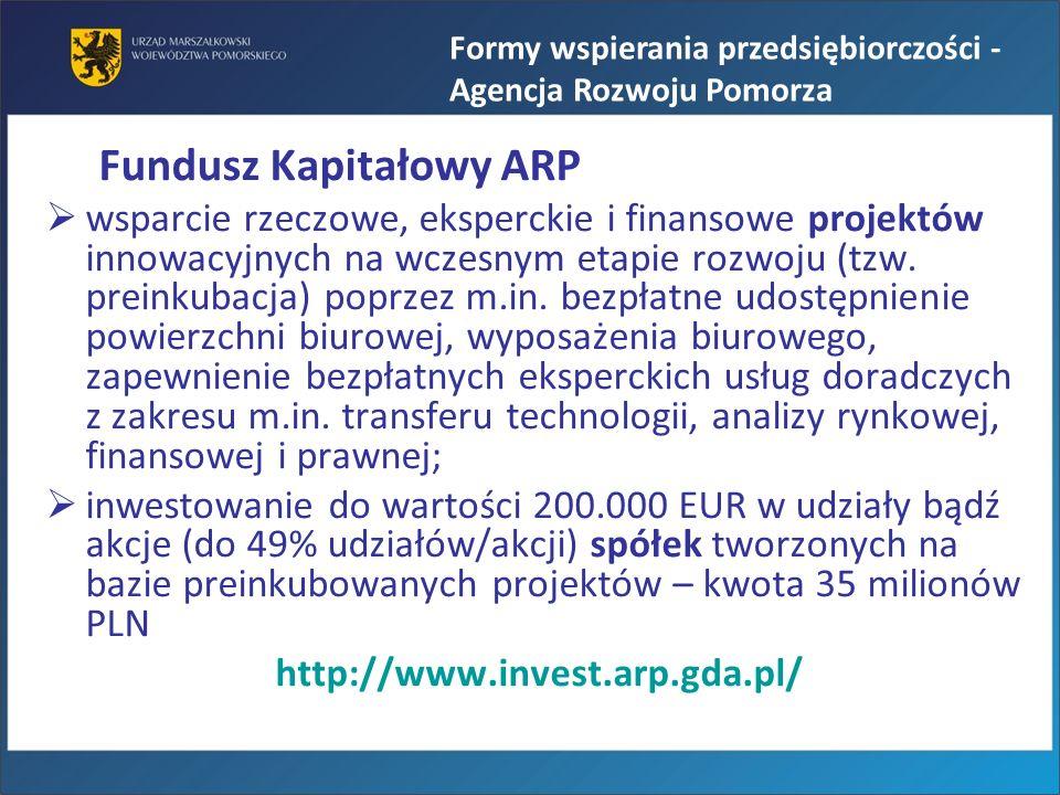 Fundusz Kapitałowy ARP