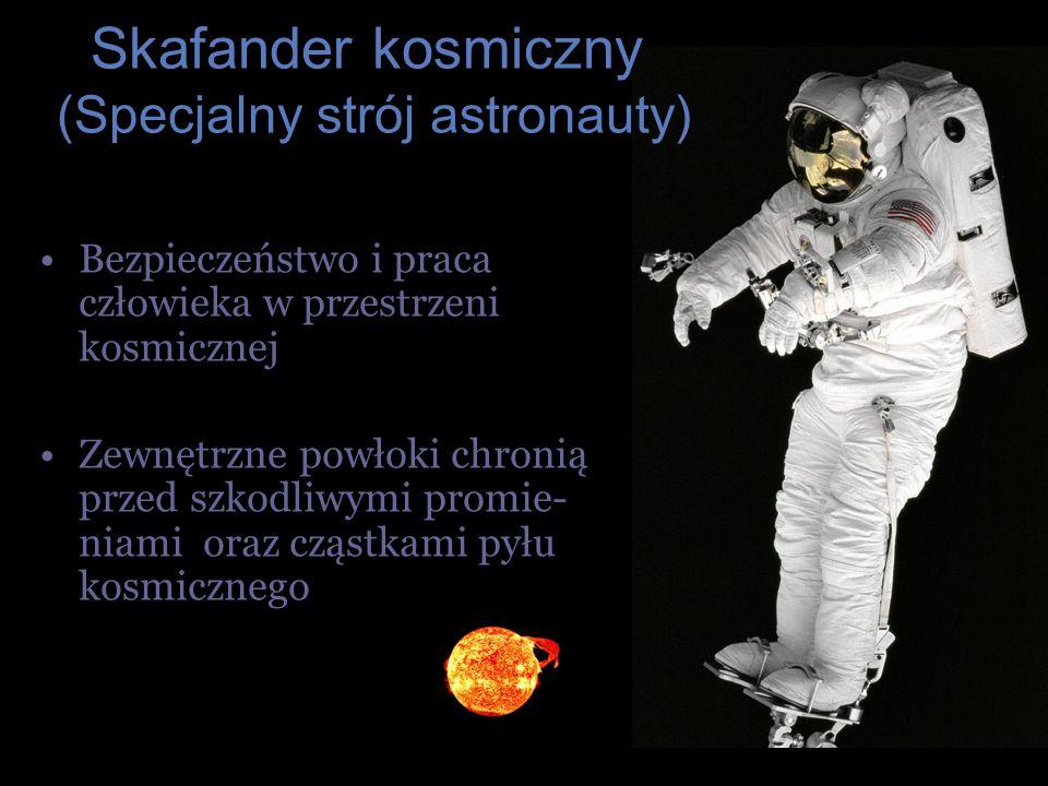 Skafander kosmiczny (Specjalny strój astronauty)