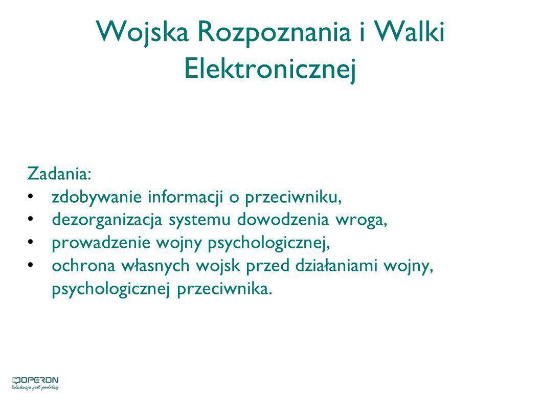 Wojska Rozpoznania i Walki Elektronicznej