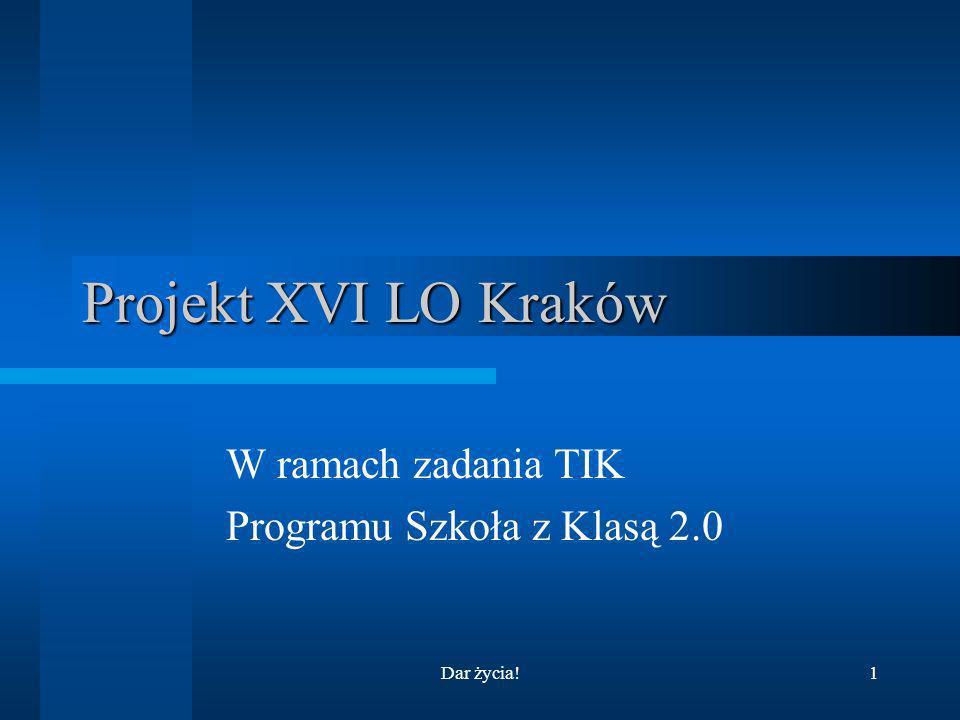 W ramach zadania TIK Programu Szkoła z Klasą 2.0