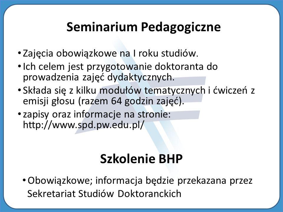 Seminarium Pedagogiczne