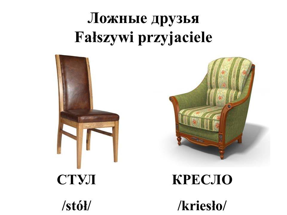 Ложные друзья Fałszywi przyjaciele