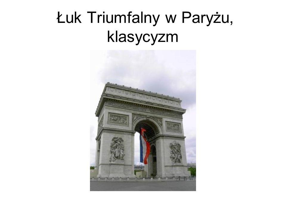 Łuk Triumfalny w Paryżu, klasycyzm