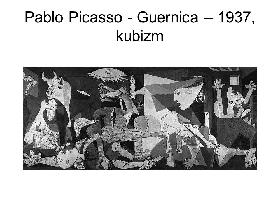 Pablo Picasso - Guernica – 1937, kubizm