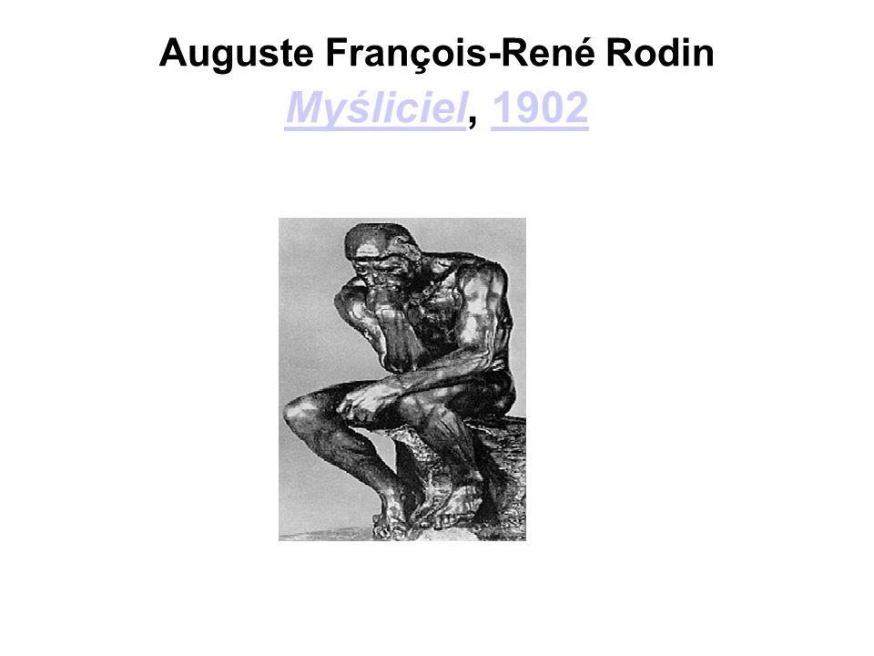Auguste François-René Rodin Myśliciel, 1902