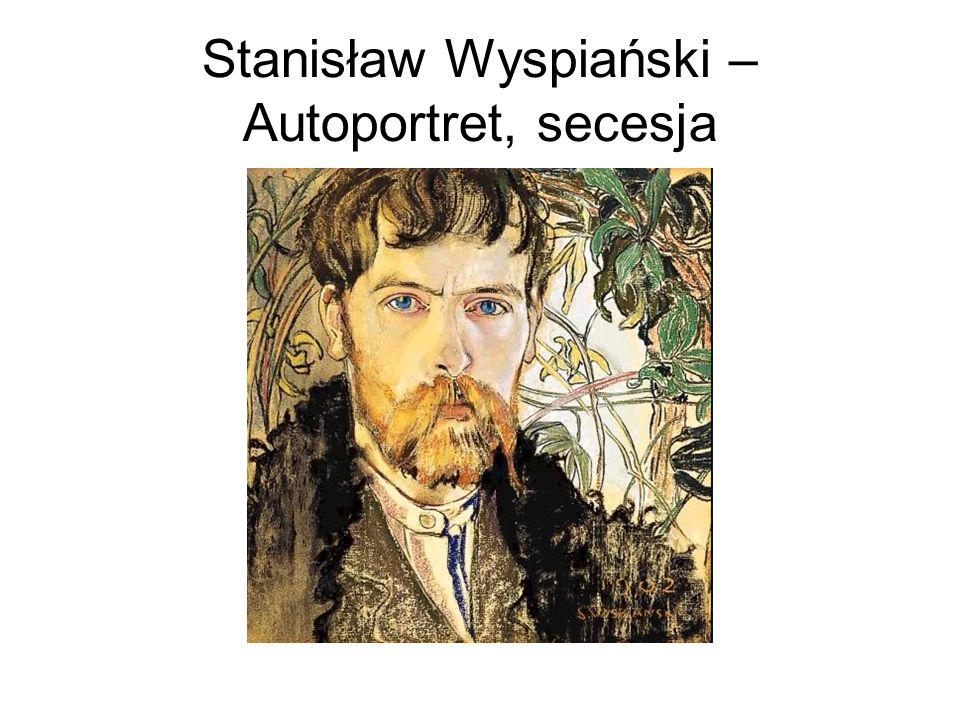 Stanisław Wyspiański – Autoportret, secesja
