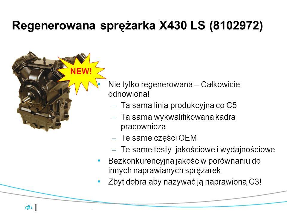 Regenerowana sprężarka X430 LS (8102972)