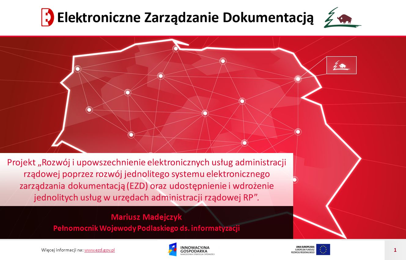 Pełnomocnik Wojewody Podlaskiego ds. informatyzacji