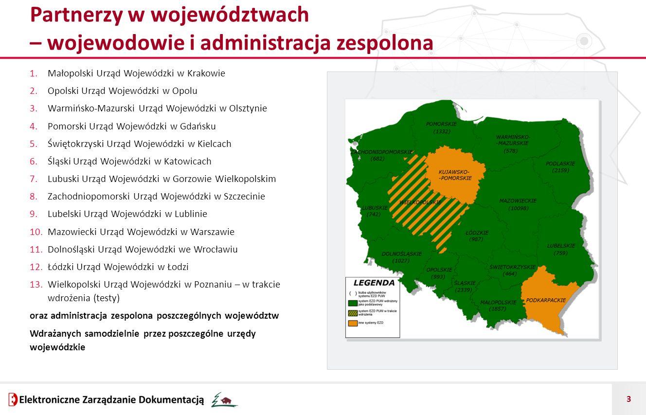 Partnerzy w województwach – wojewodowie i administracja zespolona
