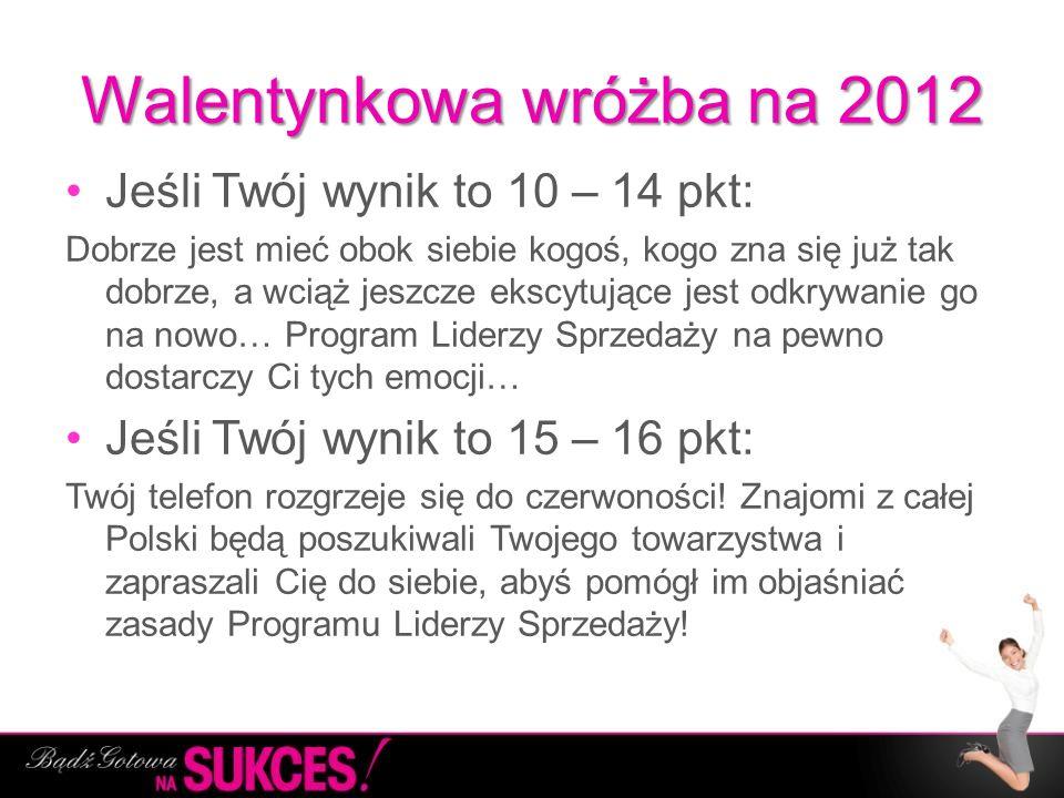 Walentynkowa wróżba na 2012
