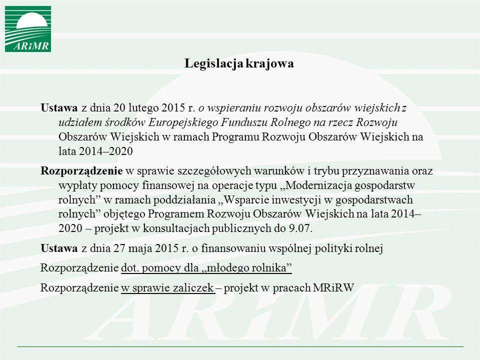 Legislacja krajowa
