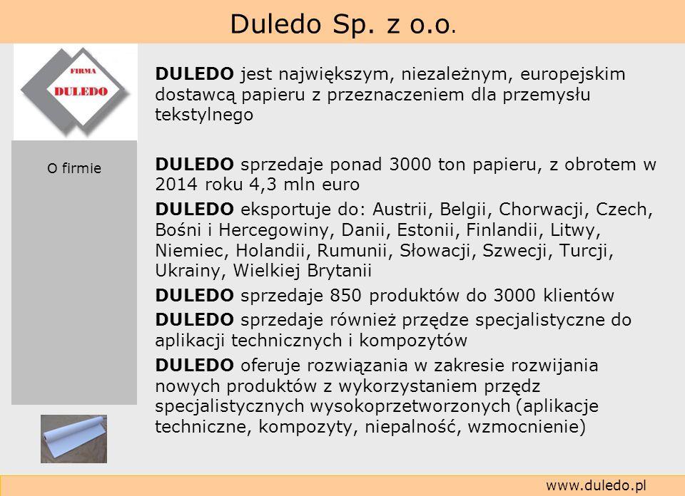 DULEDO sprzedaje 850 produktów do 3000 klientów