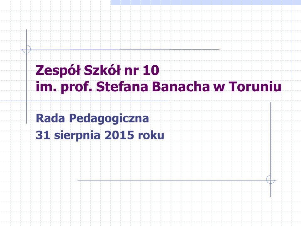 Zespół Szkół nr 10 im. prof. Stefana Banacha w Toruniu
