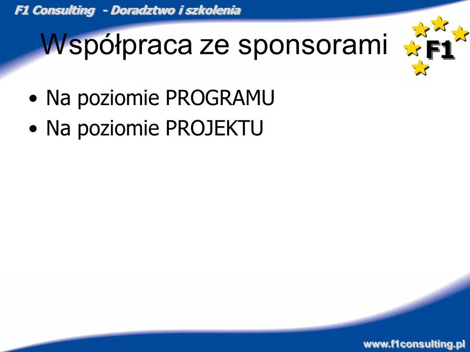 Współpraca ze sponsorami
