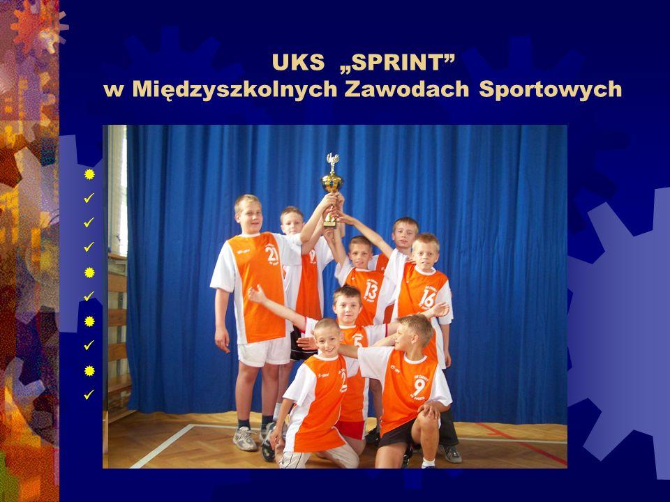 """UKS """"SPRINT w Międzyszkolnych Zawodach Sportowych"""