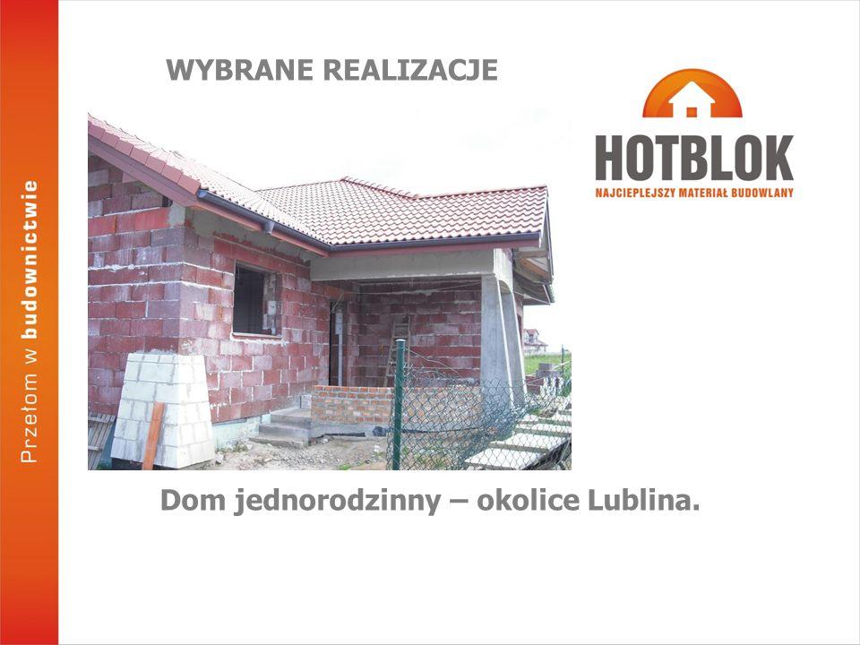 Dom jednorodzinny – okolice Lublina.