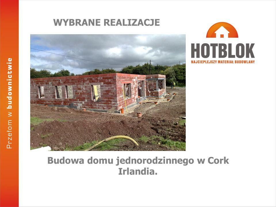 Budowa domu jednorodzinnego w Cork Irlandia.