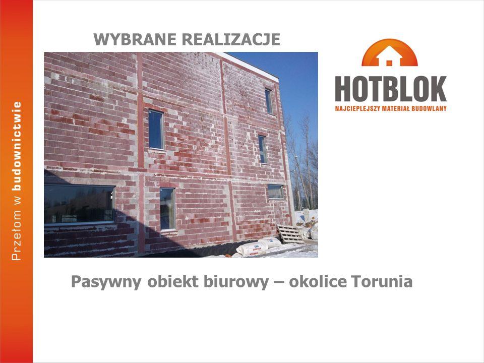 Pasywny obiekt biurowy – okolice Torunia