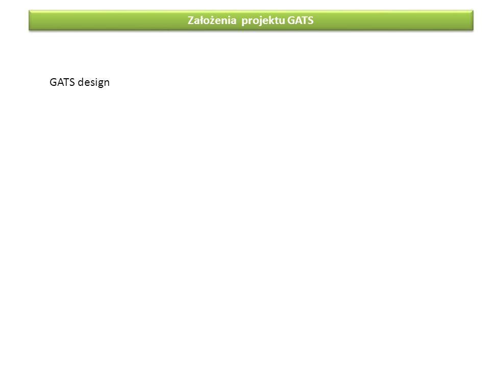 Założenia projektu GATS