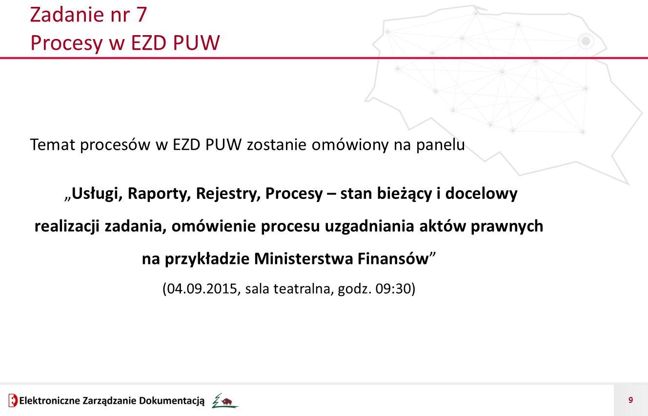 Zadanie nr 7 Procesy w EZD PUW
