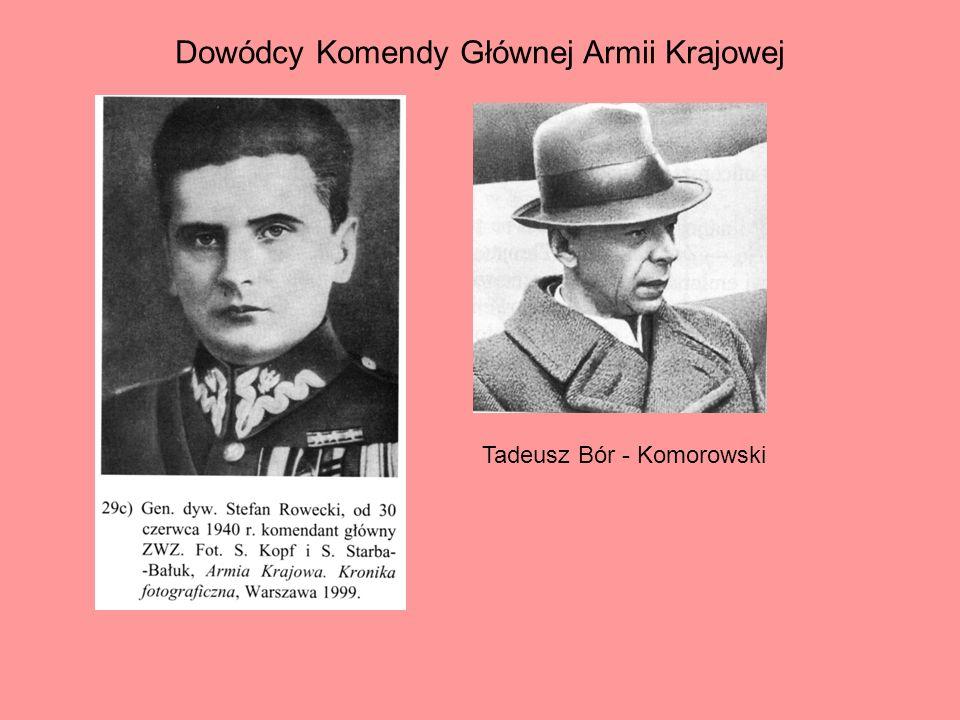 Dowódcy Komendy Głównej Armii Krajowej
